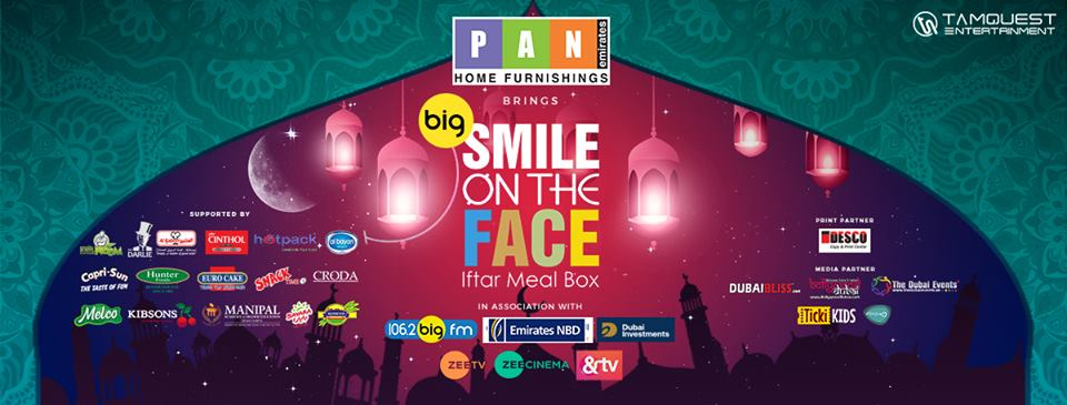 'SMILE ON THE FACE ' Iftar Meal Box !!