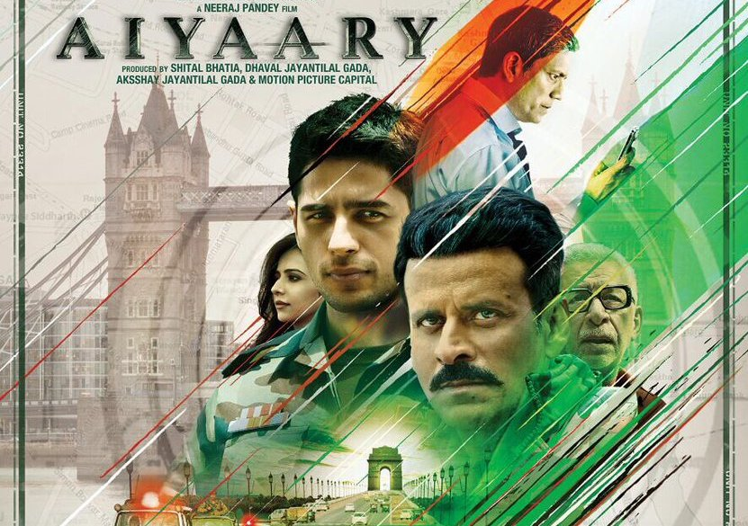 Witness The Story Of Two Indian Army Officers 'Aiyaary'  By Box Office Events