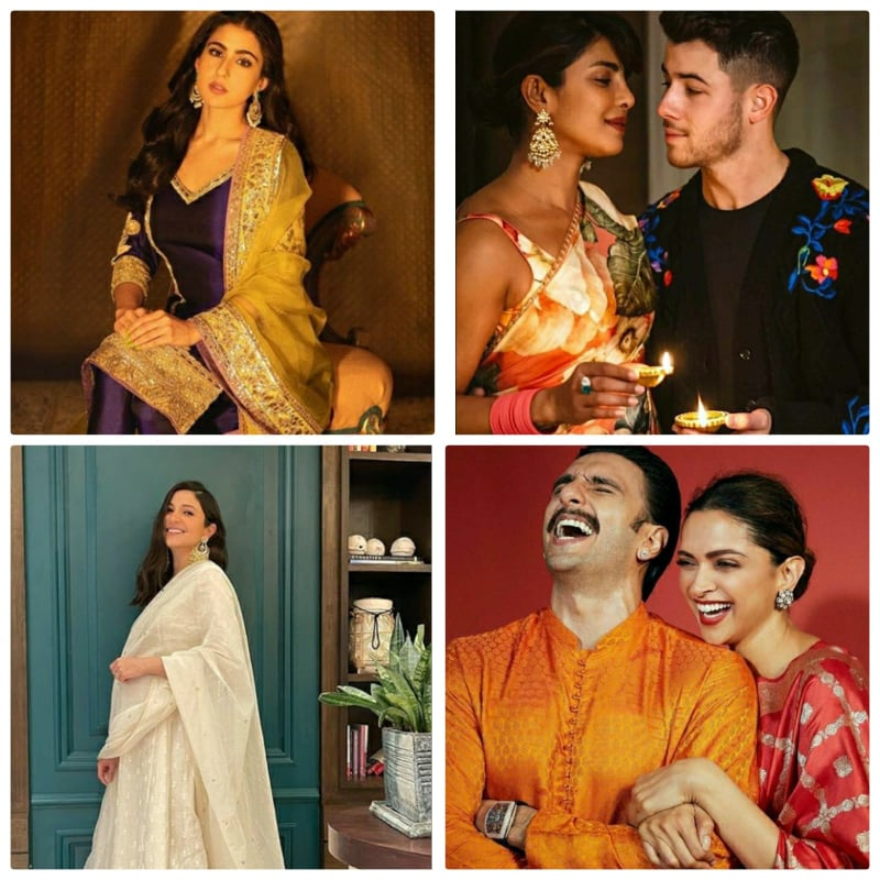 Here's how your Favorite Bollywood celebs celebrated Diwali 2020!