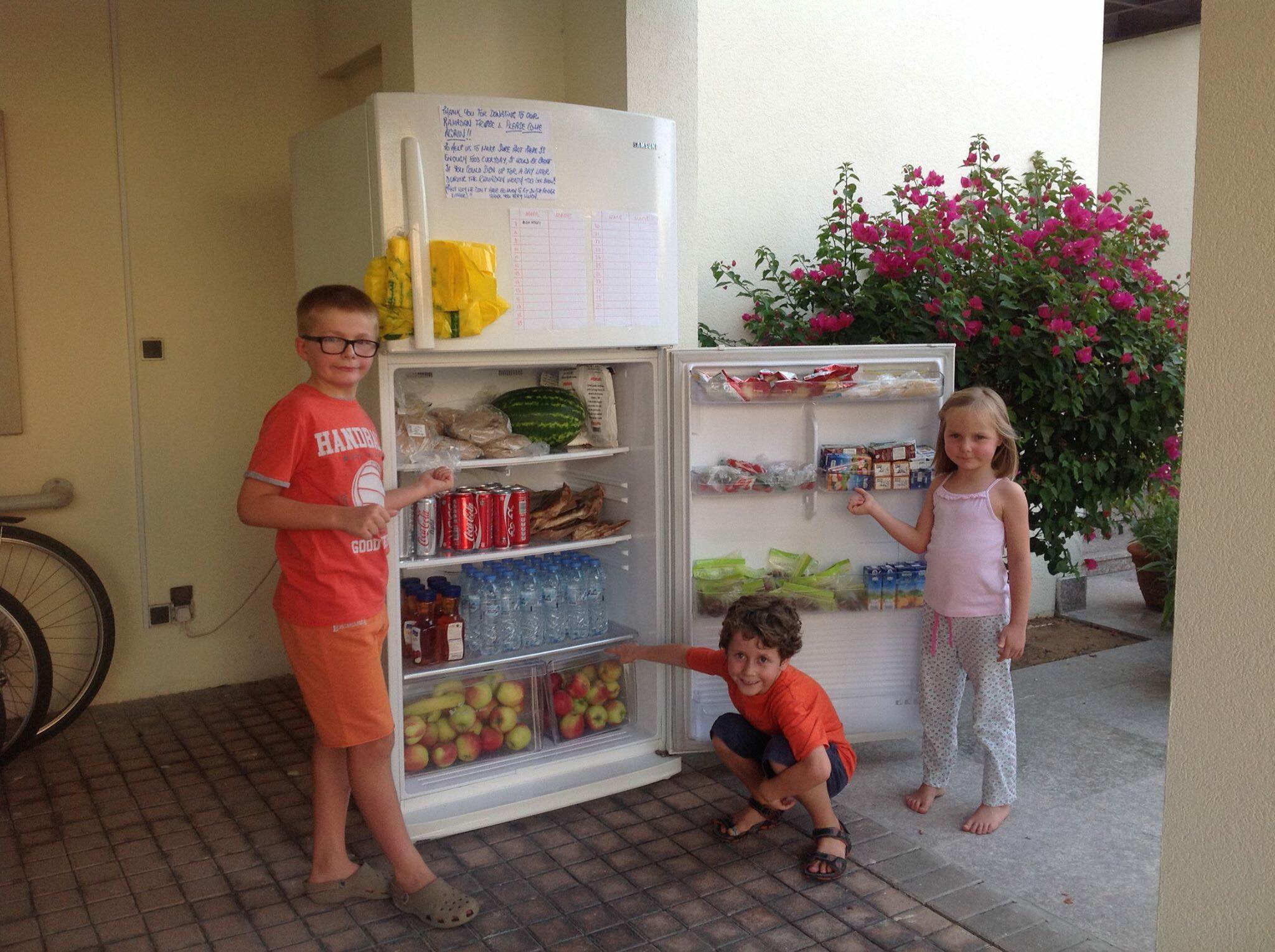 Ramadan sharing fridges are back for 2018 !!