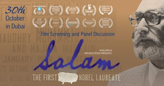 Special Screening Of 'Salam' A Documentary on the Nobel Prize Winner Abdus Salam In Dubai!!