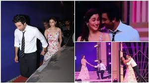 Alia & Ranbir Re Creates Ishq Wala Love Moment On Stage - Checkout Video !!