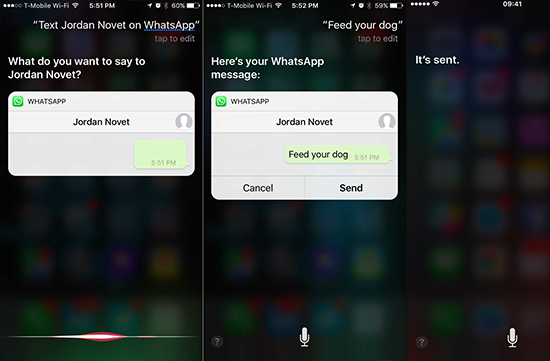 Siri Can Now Read Your WhatsApp Messages Out Loud