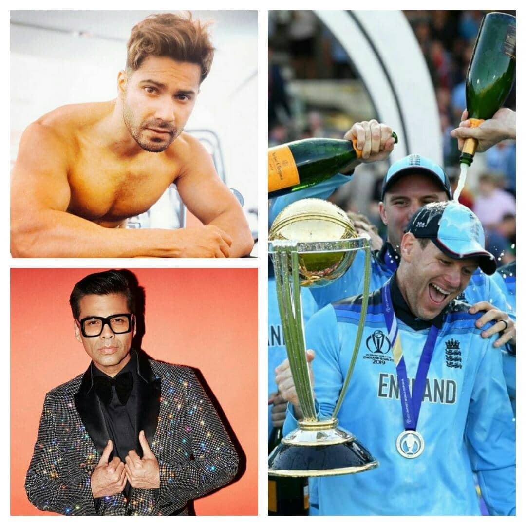 World Cup 2019 !! Bollywood Stars Tweet Their Reactions For England's Impressive Win Against New Zealand !!