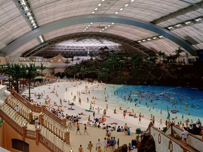 Ever heard of the Japan's Indoor Beach? Well get to know what is it all about!!
