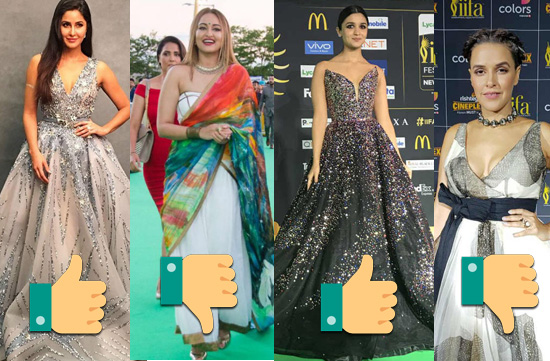 IIFA2017 - Check out best to worst dressed celebs at Green Carpet