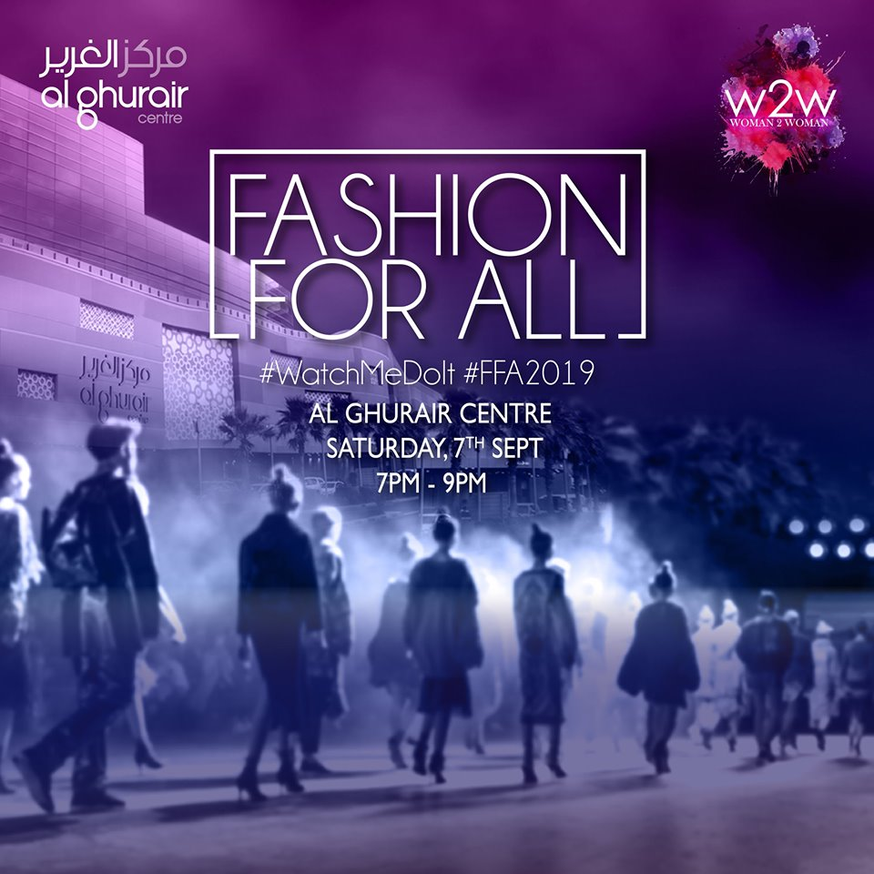 Fashion Embraces Diversity - Fashion For All 2019 Happening In Dubai !!