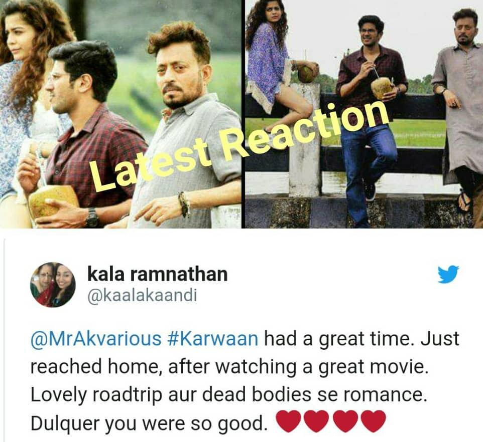 Karwaan Movie Review  Celebs & Audience Latest Reactions !!