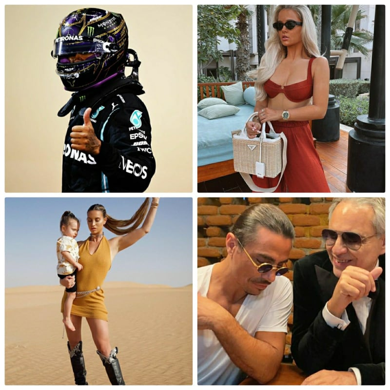 Famous Celebrities spotted in the UAE this week!!