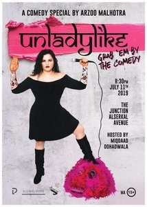 Unladylike !! An Indian American Comedy Feist  By Arzoo Malhotra !!