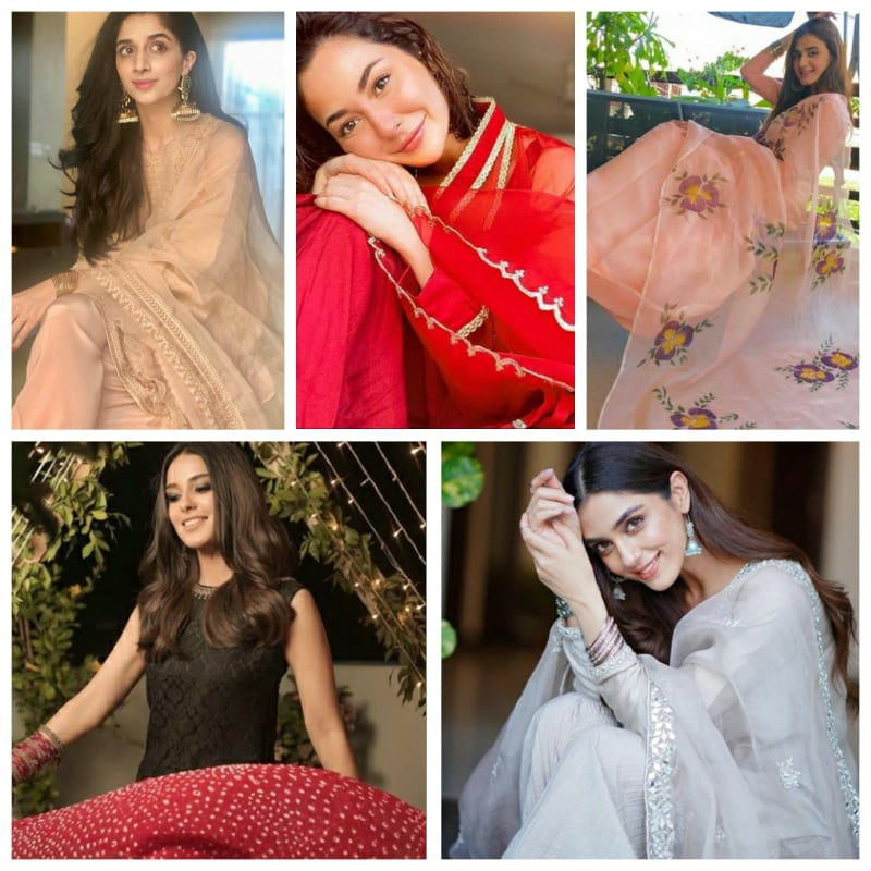 Pakistani Actresses who rocked the Eid Ul Adha 2020 Outfits!!
