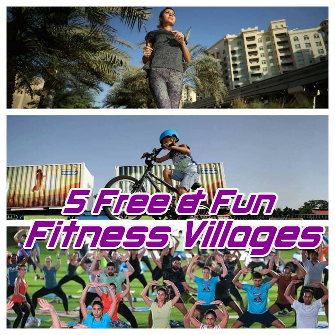 Be Spoilt For Choice !! 5 Free & Fun Fitness Villages For 22 Days !!