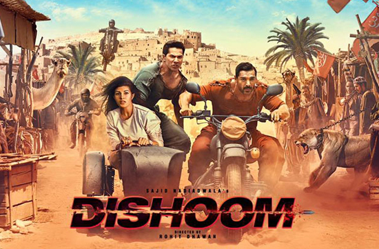 First day collection of Jacqueline Fernandez and Varun Dhawan's film Dishoom!