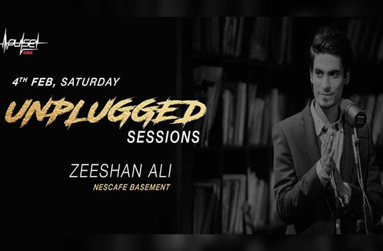 Unplugged Sessions with Zeeshan Ali from Nescafé Basement
