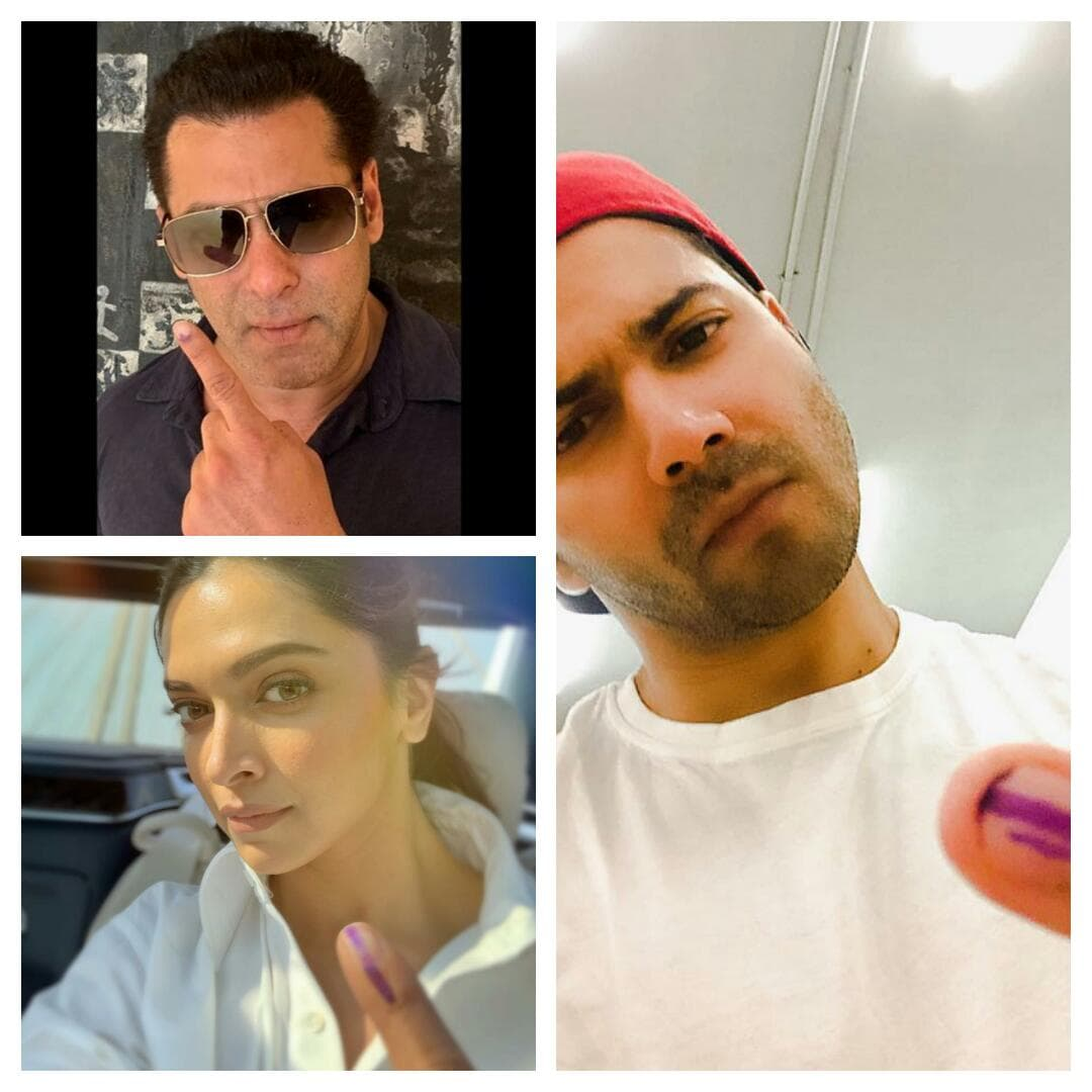 Deepika Padukone, Salman Khan & Many Other Bollywood Celebs Casted Their Votes Ahead Of Indian Elecions 2019 !!