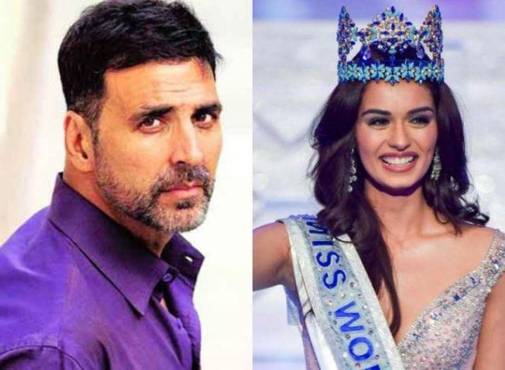 Miss World 2017 'Manushi Chillar' To Make Her Debut Opposite Akshay Kumar !!
