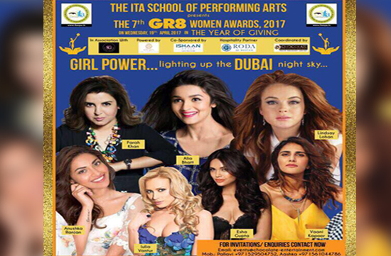 The 7th Great Women Awards Taking Place in Dubai