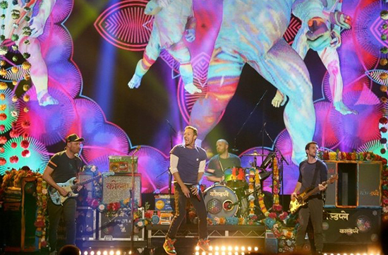 Coldplay to Play Abu Dhabi's du Arena on New Year's Eve