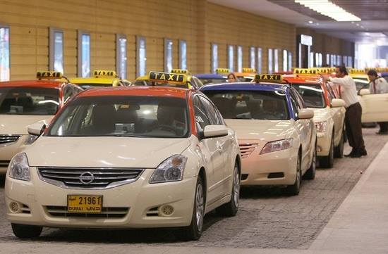 Taxis in Dubai to Have Free Wifi