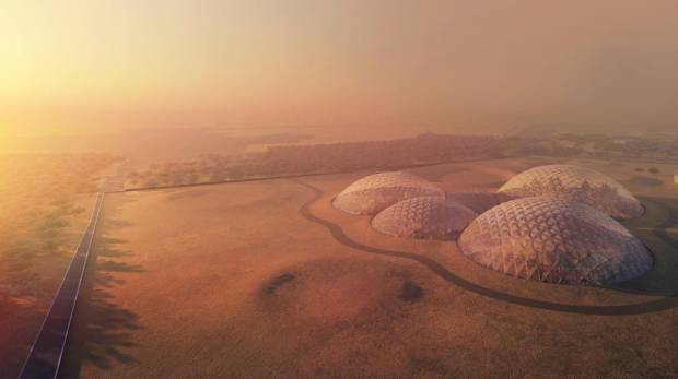 UAE to build Dh500m Mars Scientific City