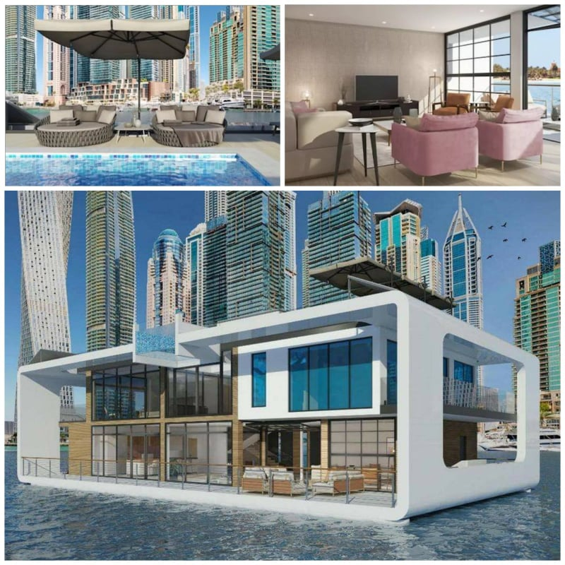 A luxurious new floating hotel is coming soon to Dubai!!!