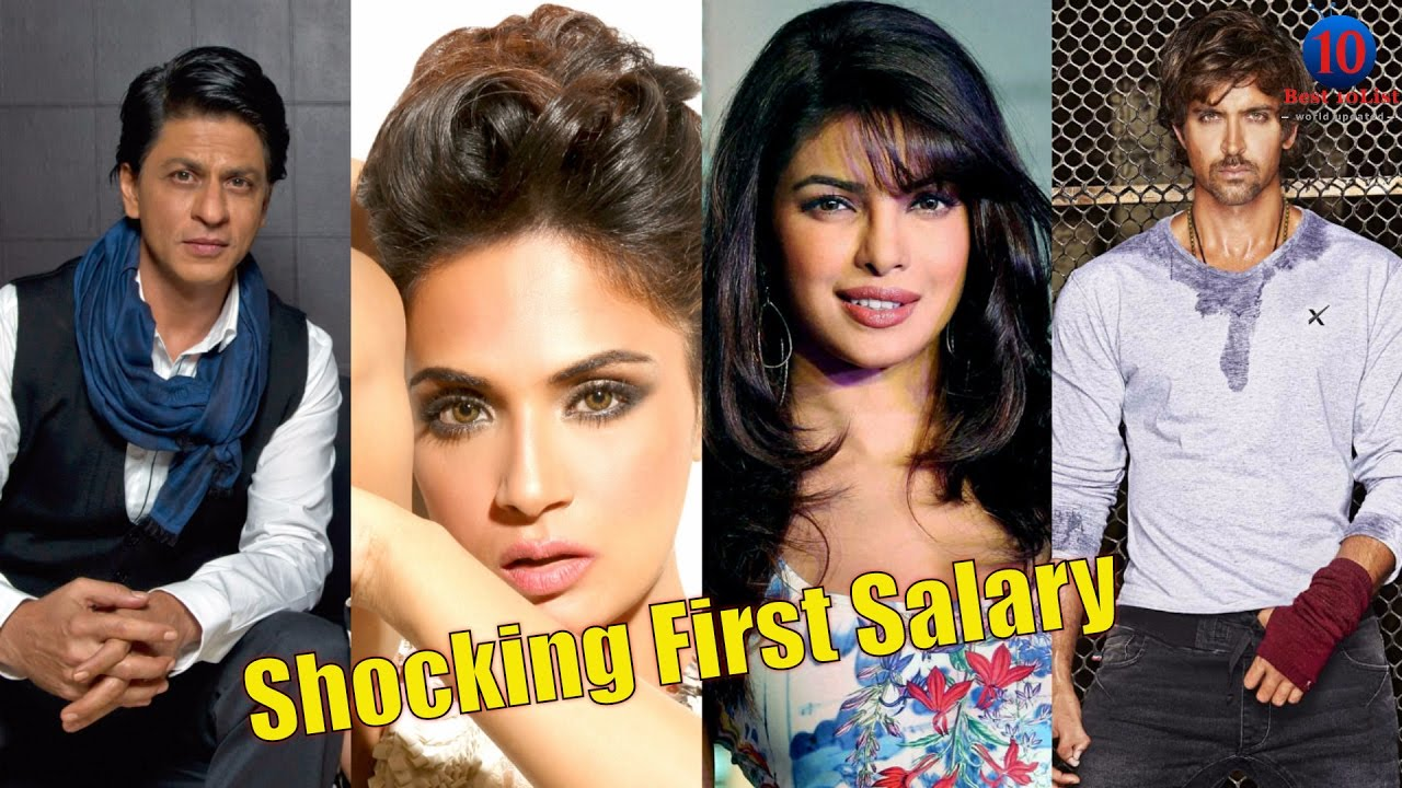 Here are the first salaries of your favourite bollywood celebs and how they spent it !!