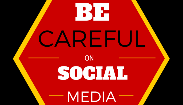 5 THINGS TO BE CAREFUL OF WHEN USING SOCIAL MEDIA