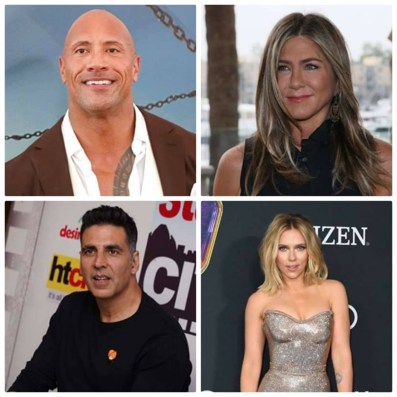 Forbes' highest-paid actors and actresses of 2020!!