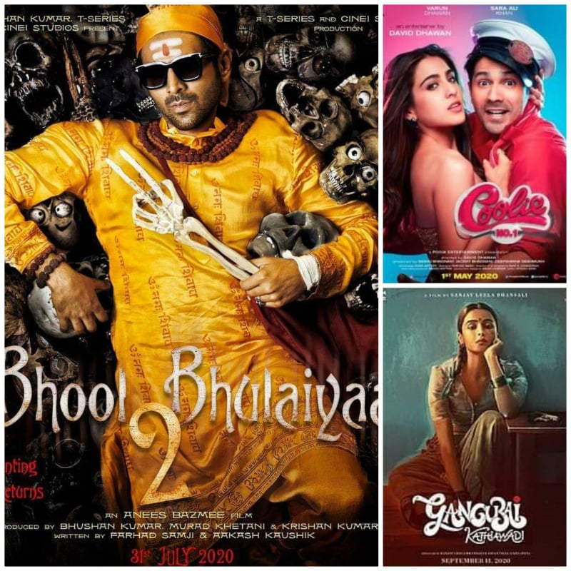 Top 8 Bollywood Movies to look forward to after Lockdown!!