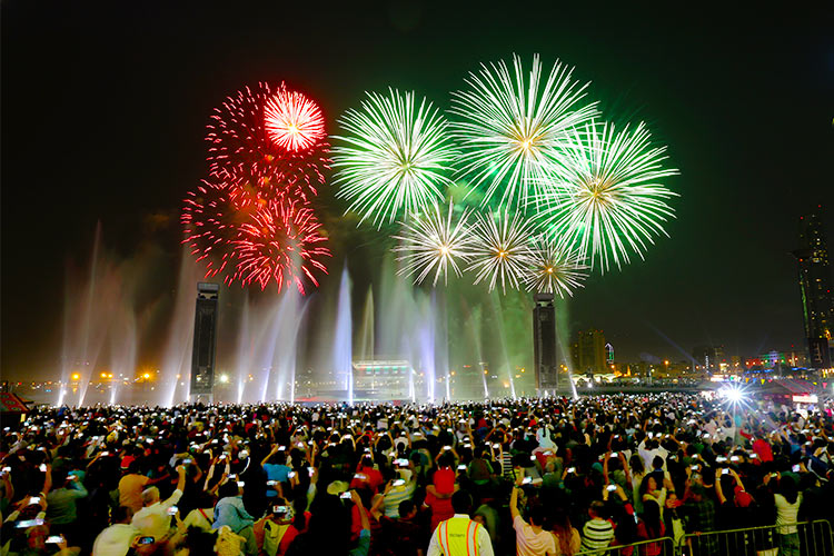 Places In The UAE Where You Can Watch Amazing Fireworks On UAE's National Day