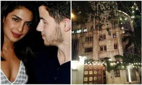 Priyanka Chopra Lit Her House Up Ahead Of Her Wedding !!