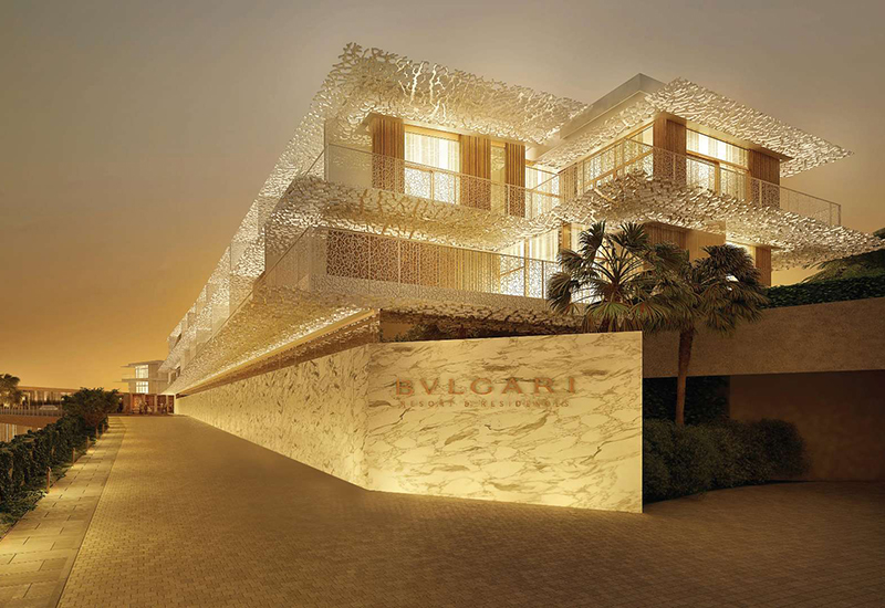 It's here! The Bulgari Resort Dubai will open just in time for Christmas