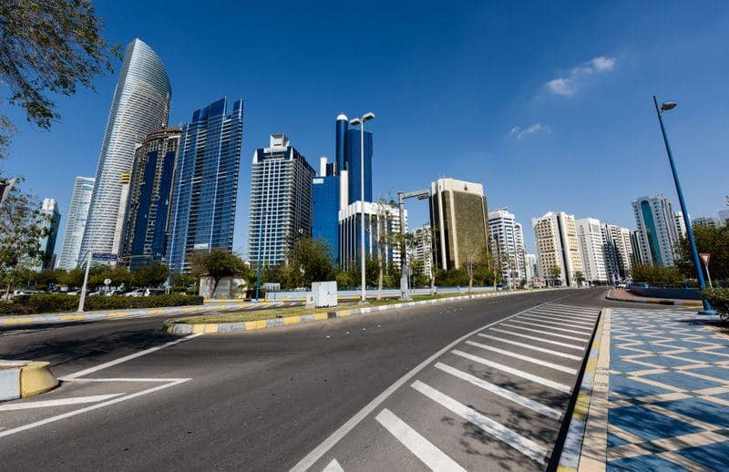 In Pictures!! Dubai's Strict Lockdown With Empty Streets & Roads!!