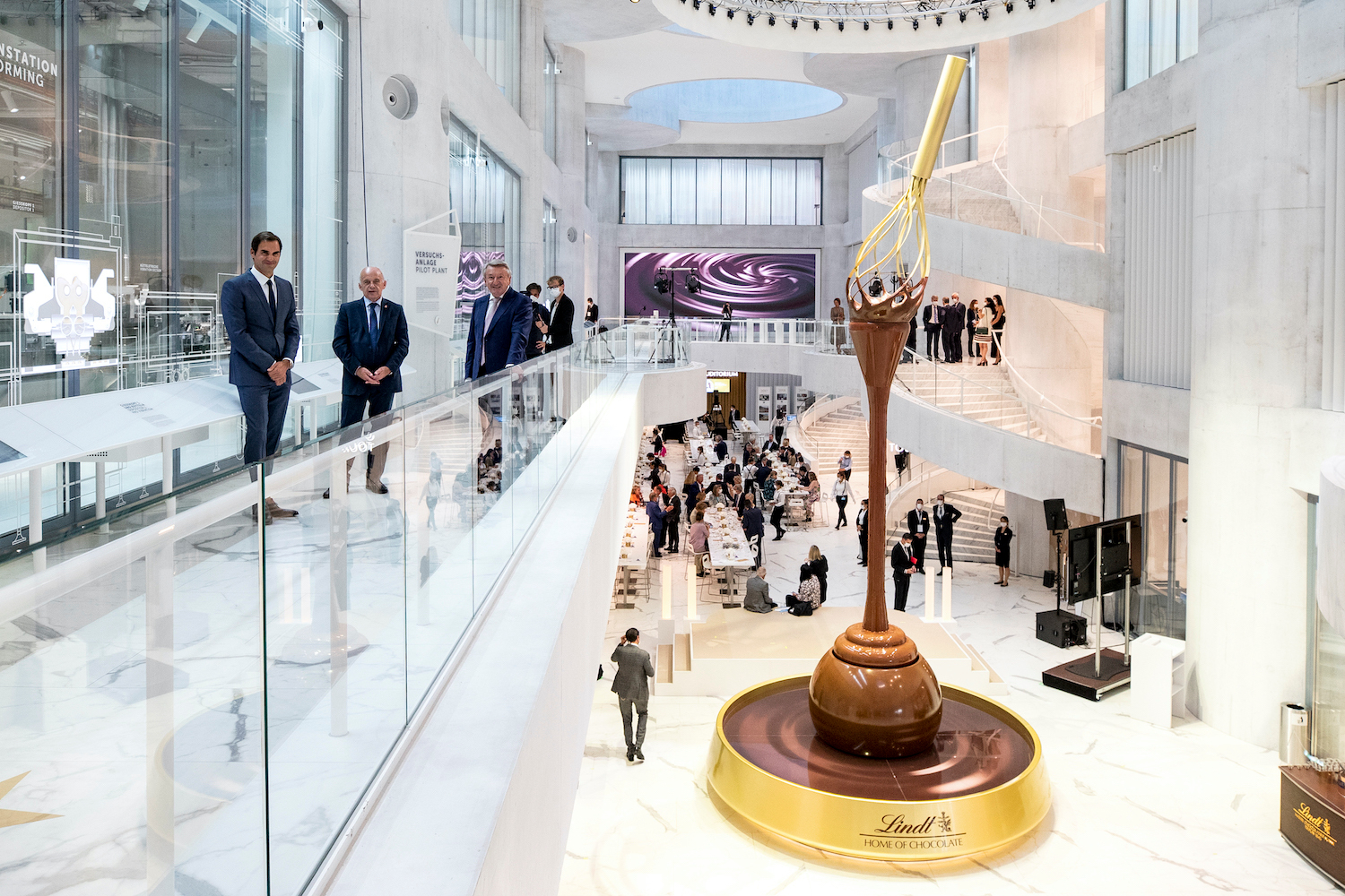 Lindt Opened the World's Largest Chocolate Museum in Switzerland!!