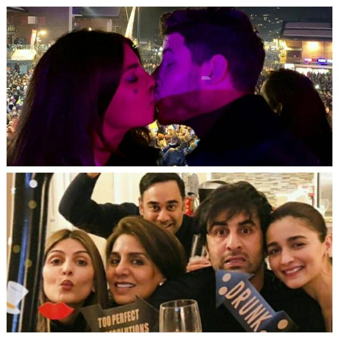 This Is How Bollywood Celebs Welcomed 2019 !! In Pics !!