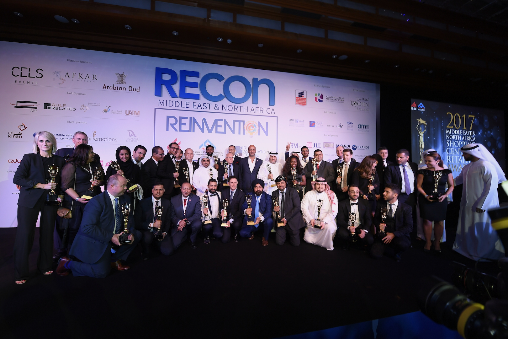 RECon MENA 2017 honours it's finest at the Awards Gala
