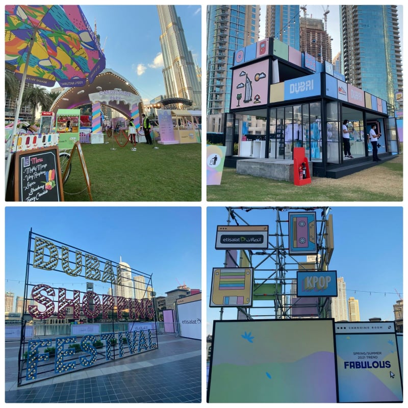 Get a look! The popular Etisalat Market Outside The Box at Burj Park!!