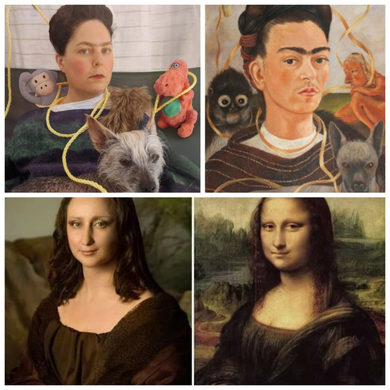 People Recreate The Famous Art Work During Self Quarantine!!!
