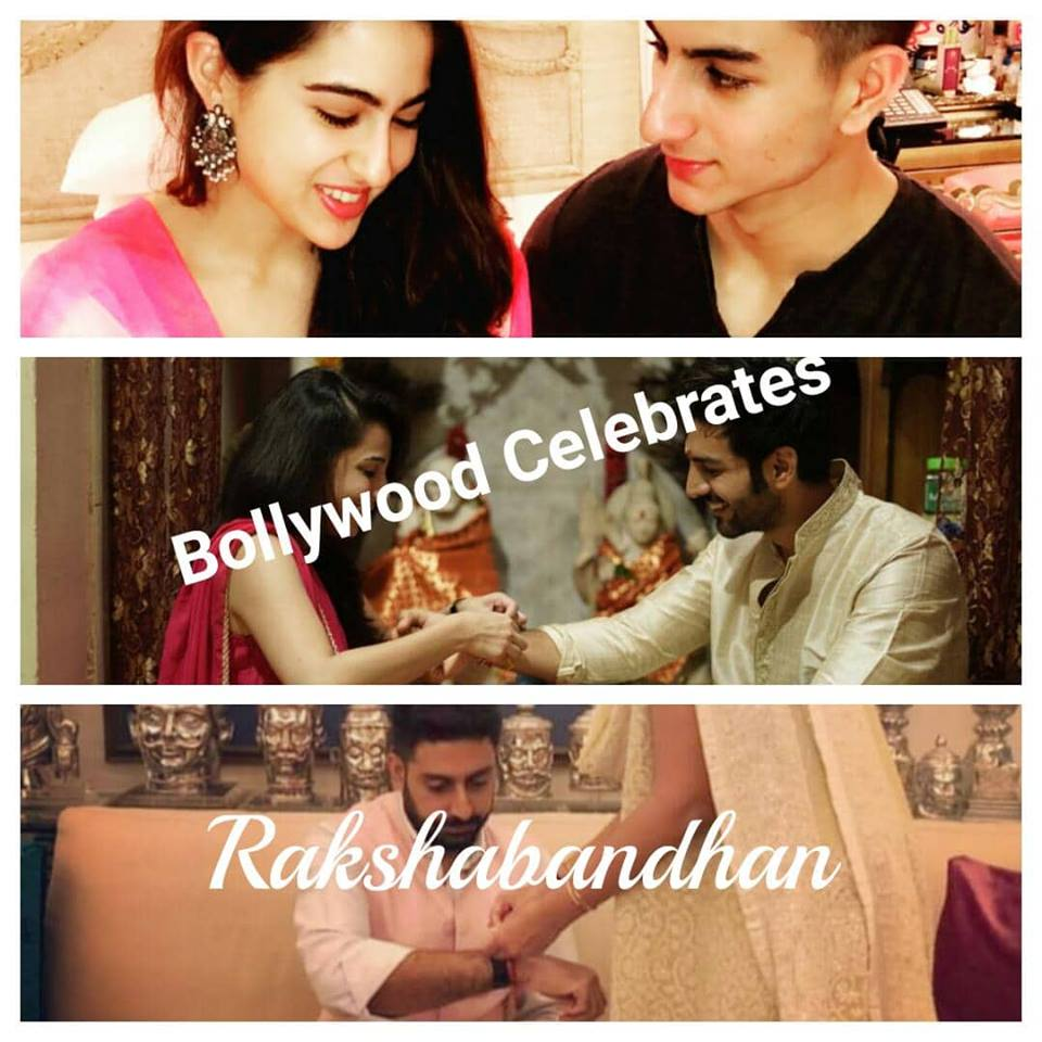 Rakshabandhan 2018 Bollywood Celebrates with Sharing Beautiful Pictures & Posts with their siblings  On Social Media !!