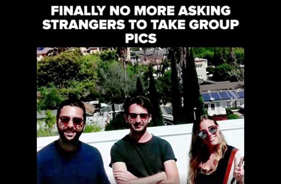 Now Never Ask Strangers to Click Your Photos