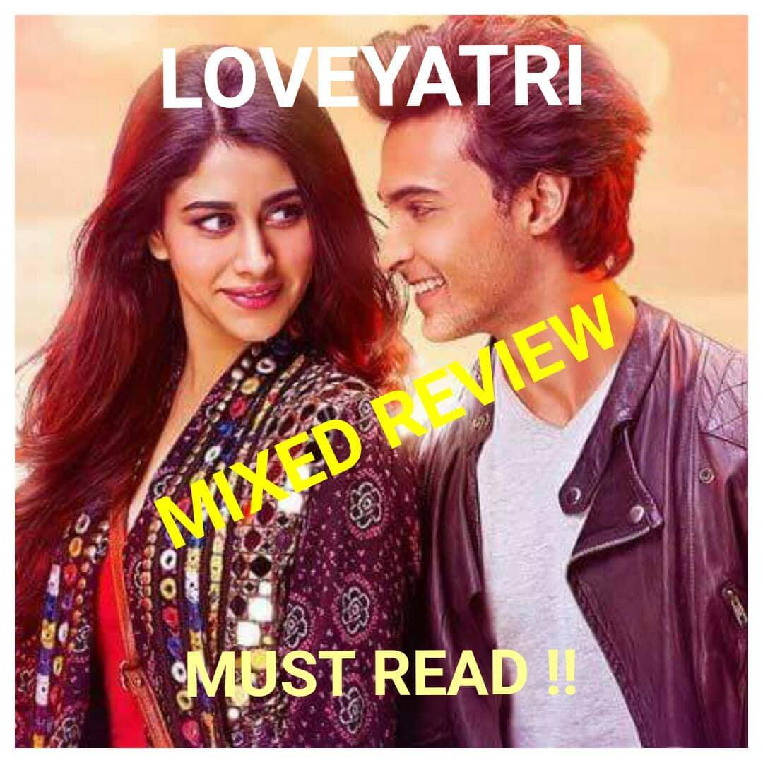Salman Khan's Loveyatri Gains Mixed Public Reviews !!