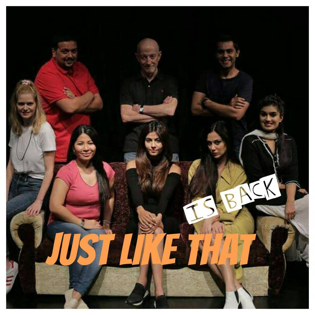 Weekend Is Here ' JUST LIKE THAT' A Dubai Based Comedy Play You Cannot Miss !!