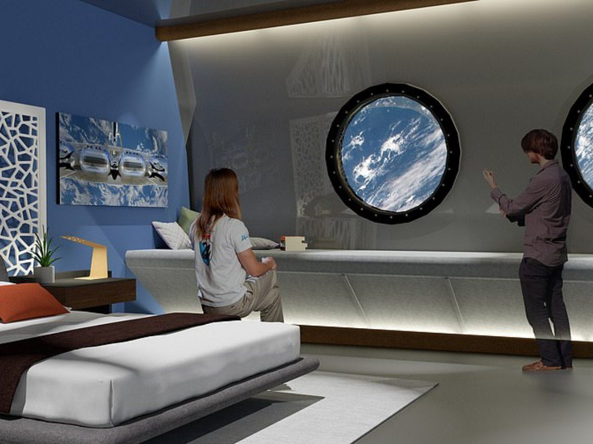 World's First Space Hotel With Bars And Cinema to open by 2027 !