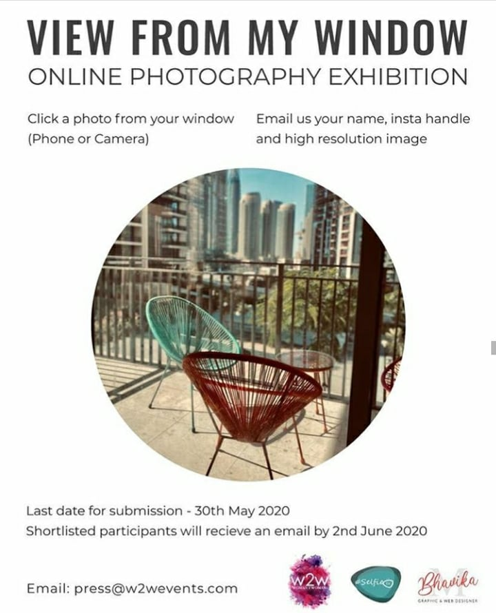 View from my Window!! Online Photography Exhibition In Dubai!!