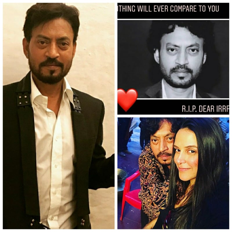 Bollywood celebs Mourns The Death Of Bollywood Star Irrfan Khan!!!