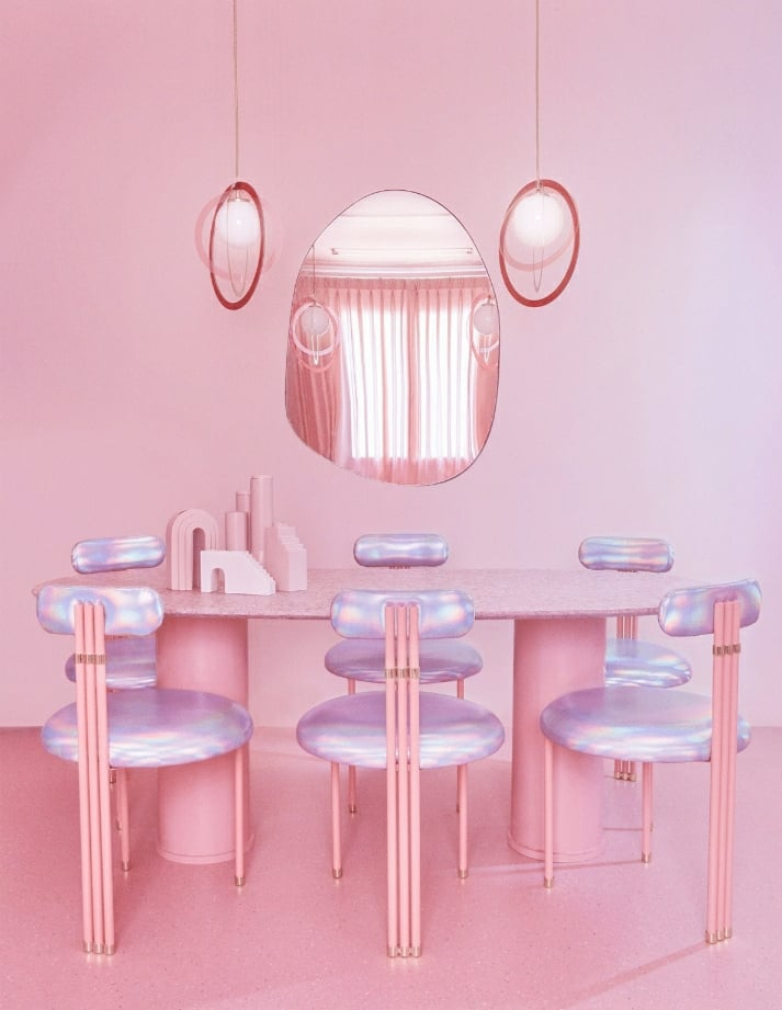 Checkout this All Pink Apartment in Madrid a Bubblegum Dream Vacation Spot!!
