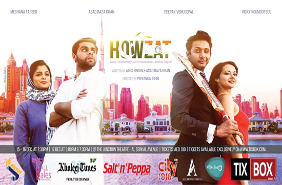 Howzat - A Play Based on Modern Dubai comes to Town