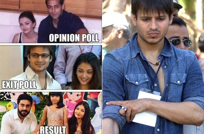 Vivek Oberoi Apologises & Deletes Salman Khan, Aishwarya Rai Meme After Negative Reactions !!!