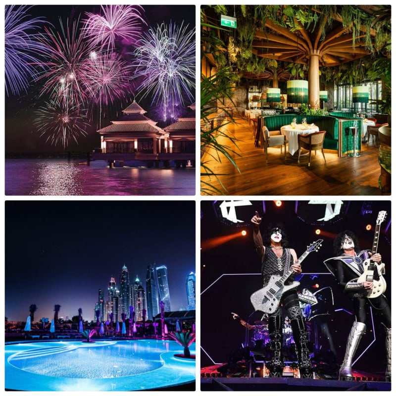 Amazing Places to celebrate New Year's Eve in Dubai 2020