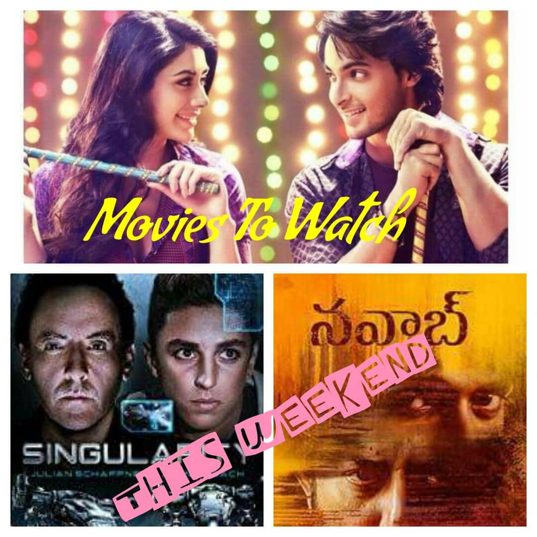 Loveyatri, Singularity & Much More !! Watch Your Favourite Movies This Weekend !!